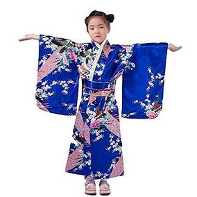 5148ba6c9 Bata De Kimono Con Traje Tradicional Japonés Para Disfraz D