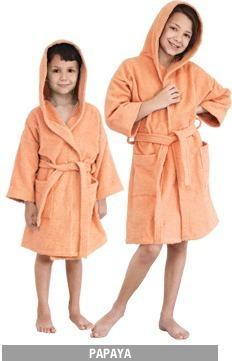 bata de toalla niño infantil con capucha talles 4 al 10