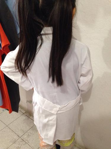 bata laborarorio niño infantil tallas 4 6 8 10 12