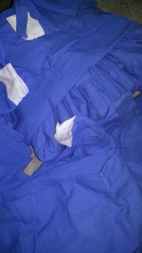 bata quirurgica de tela nueva (chica, mediana y grande)