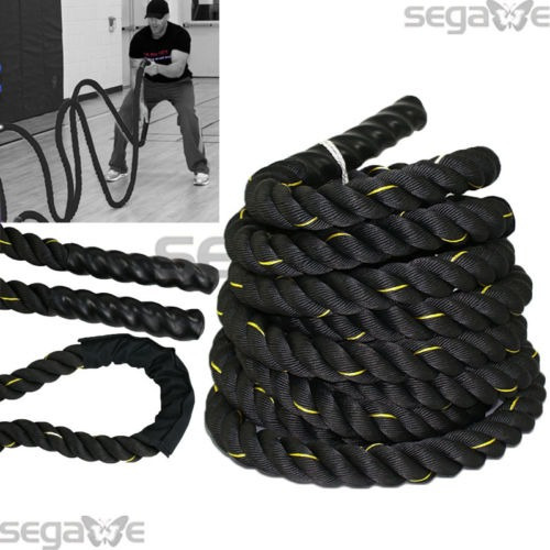 batalla cuerda entrenamiento fuerza 1.5 poly dacron 30 pies