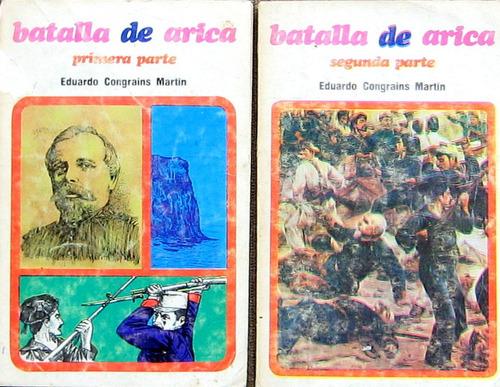 batalla de arica 1 y  2 parte, congrais mart, guerra chile