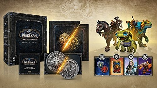 batalla de world of warcraft para la edición azeroth collect