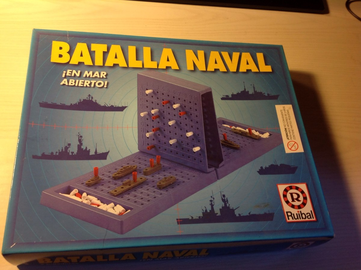 Batalla Naval Juego De Mesa 80 00 En Mercado Libre