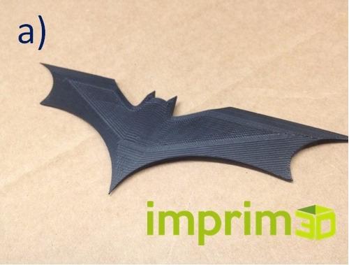 batarang impreso en 3d -  modelos diferentes.
