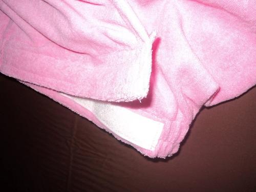 batas de baño dama 100% cotton