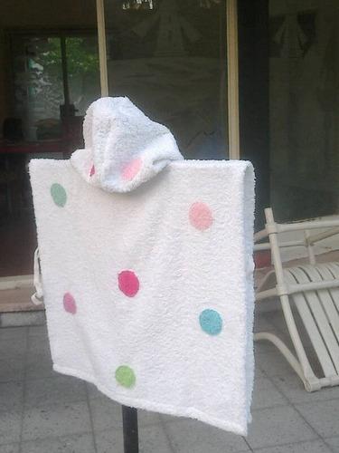 batas de baño, playa o pileta para niños