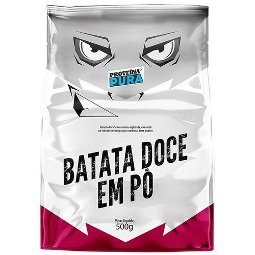 batata doce em pó 500g refil - proteína pura