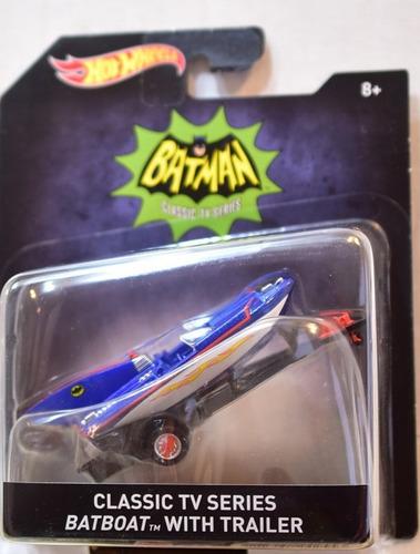 batboat batman tv series '66 esc 1:50 hot wheels 2016