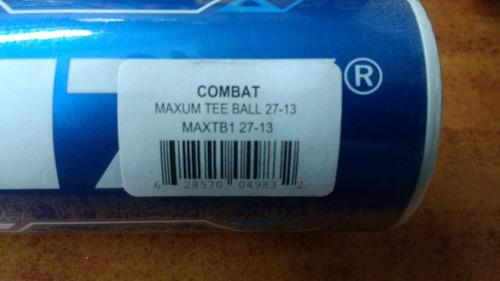 bate beisbol combat maxum 27in 13oz compuesto