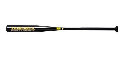 bate de béisbol winmax negro - mosca