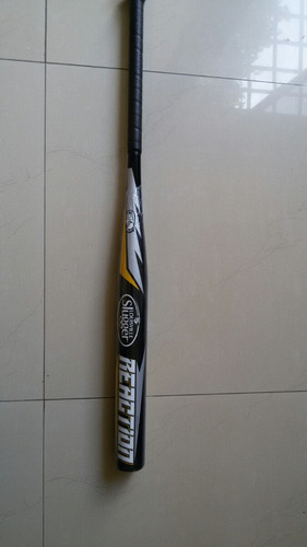 bate de sofbol nro 34in 28 oz reaction louisville slugger