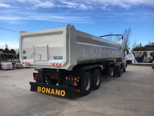 batea alta resistencia tara 7400kg bonano 0km