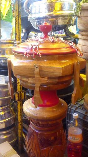 batea de shango en madera de cedro