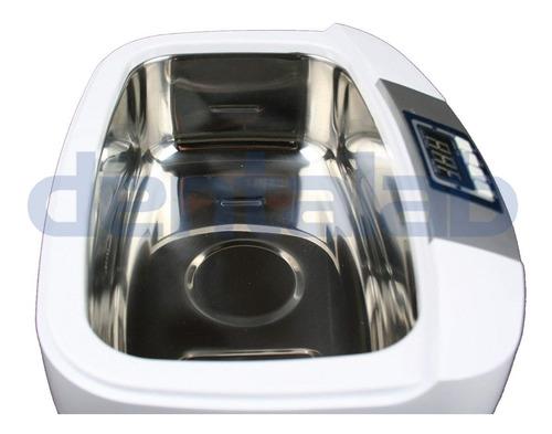 batea lavadora ultrasonido 2.5 l joyería instrumentos dental