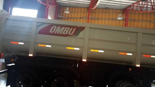 batea ombu okm 2+1 c/eje neumatico 27 m3 entrega inmediata