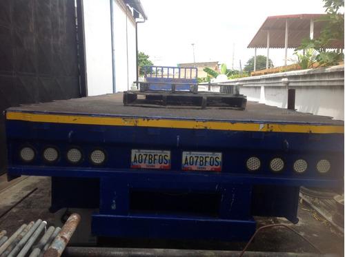 batea usada marca: carrocería san marcos, año 2012, 3 ejes