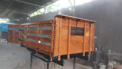 bateas y carrocerías para pick up tel