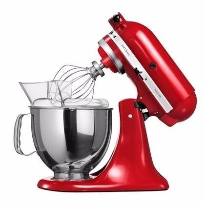 Batedeira planet ria stand mixer vermelha kitchenaid for Kitchenaid planetaria