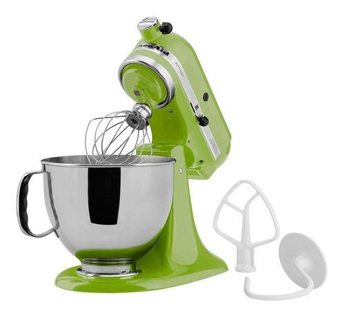 batedeira planetária kitchenaid artisan verde 127v