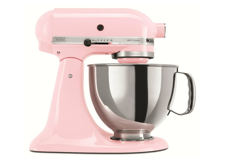 Batedeira planetaria kitchenaid rosa pink r em for Kitchenaid planetaria