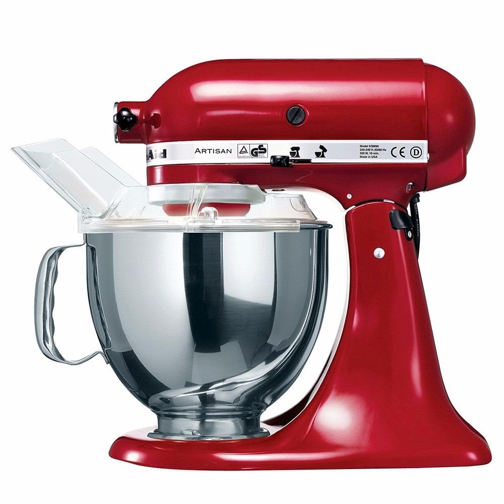 Batedeira planet ria kitchenaid stand mixer red kea30cv for Kitchenaid planetaria