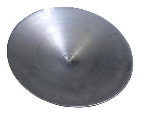 bateia garimpo aço galvanizado 54cm + cuia 20cm