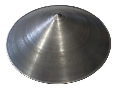 bateia para garimpo em aço galvanizado 54cm - unidade