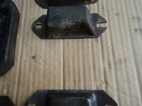 batentes eixo chassi de rural, f75, jeep willys