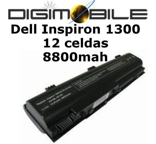bateria 12 cell para dell inspiron 1300 b120 b130 120l kd186