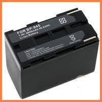 bateria 12 horas recargable bp-945 camara canon es8000v