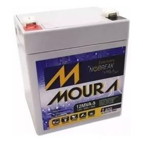 Bateria 12mva-5 Nobreak Vrla Sms/apc/tsshara 12v 5ah Moura