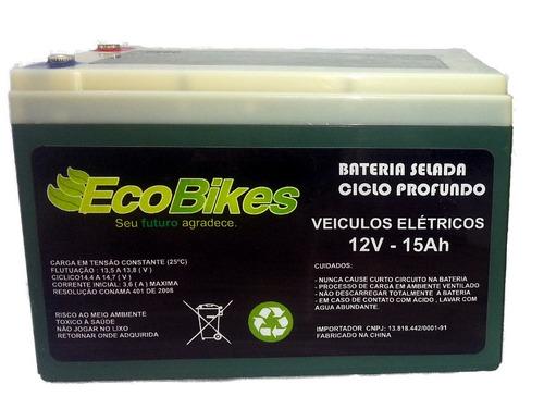 bateria 12v 14ah bicicleta elétrica scooter patinete skate
