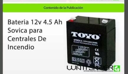 bateria 12v 4.5 amp