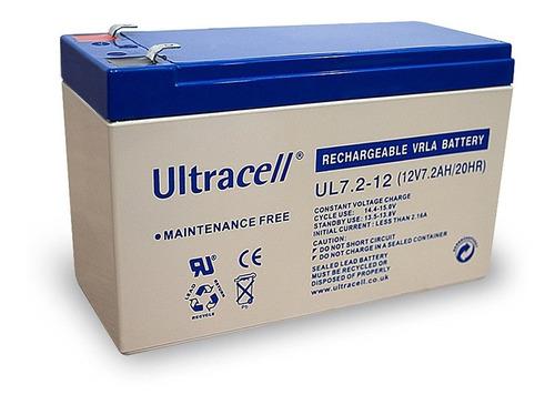 batería 12v 7 amp paneles solares alarma ups  electroimporta