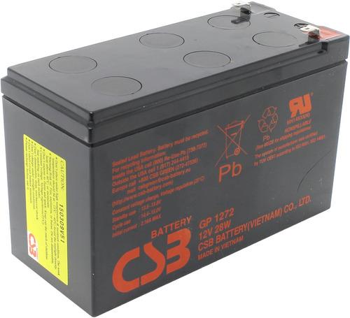 bateria 12v 7.2 ah  csb gp1272 f2  vrla. 7ah 7amp 28w