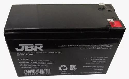 bateria 12v 7a selad para nobreak alarmes cerca elétrica som