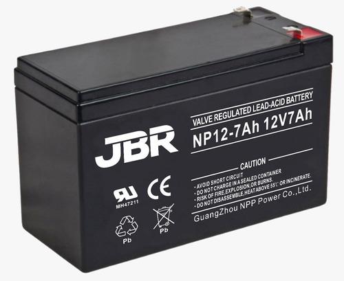 bateria 12v 7a selada p/ nobreak alarme cftv cerca elétrica