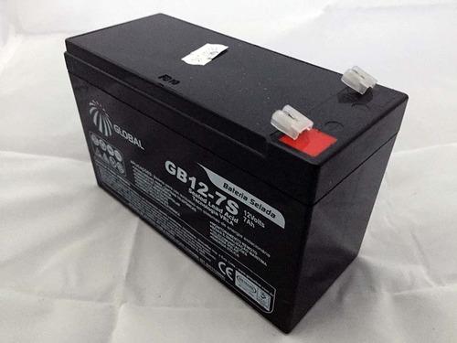 bateria 12v 7a selada - para nobreak alarme e cerca eletrica