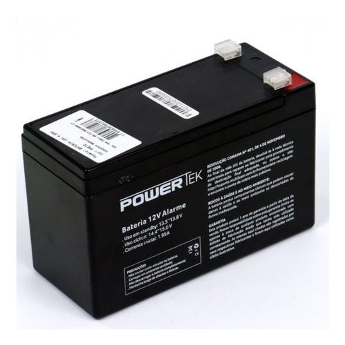 bateria 12v powertek alarme cerca elétrica segurança cftv