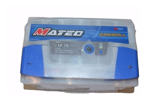 bateria 12x75