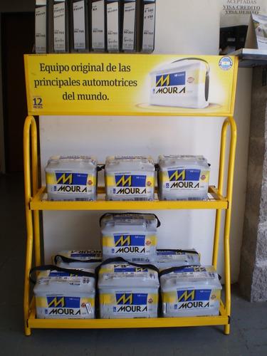 bateria 12x75 borne derecho moura mi24kd colocacion gratis