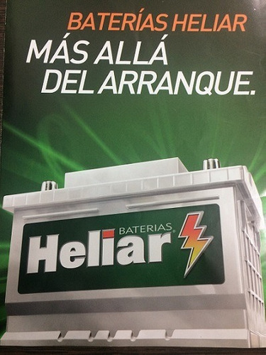 bateria 12x85 heliar 85amp l3 75ah renault peugeot