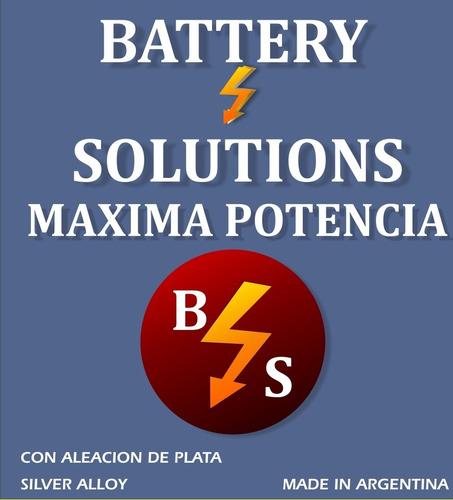 bateria 12x85- premium-mayor fuerza de arranque-gtia 1 año
