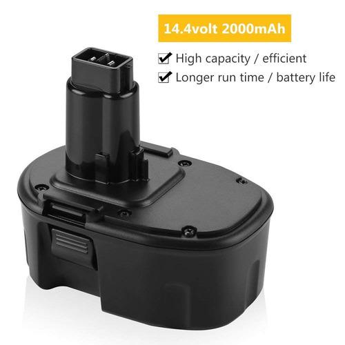 batería 14.4v para dewalt 2.0ah dw dc9091 dw9094 dw9091 de9