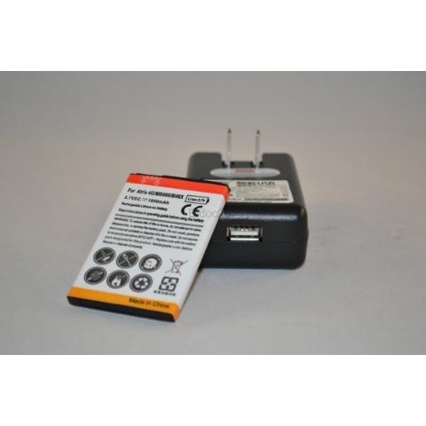 bateria 1800mah+cargador para atrix 4g droid x mb860 bh6x 5x
