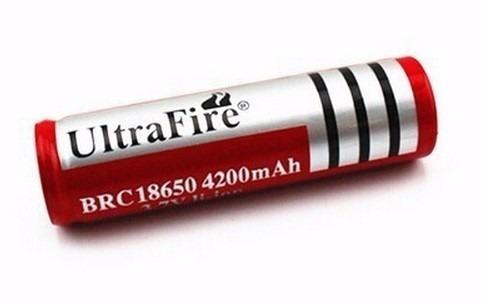 batería 18650 7800 mah 3.7 v li-ion ultrafire fenix nitecore