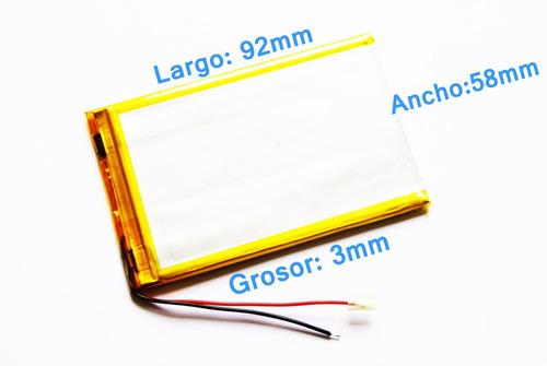 batería 3000mah para tablets titan y chinas de 7 pulgadas