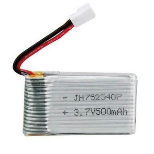 bateria 3.7v 500 mah  25c