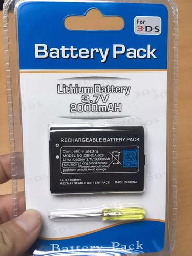 bateria 3ds, sellada - 5 c/u